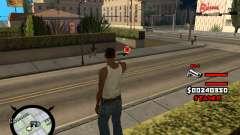 HUD by LokoMoko для GTA San Andreas