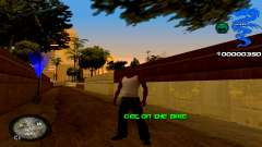 C-HUD Dragon для GTA San Andreas