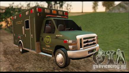 Ford E450 Ambulance SANG Tactical Rescue для GTA San Andreas