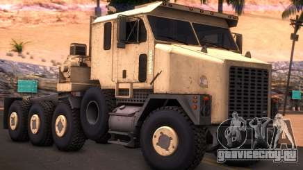 Oshkosh M1070 HET Tank Transporter для GTA San Andreas