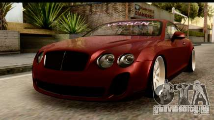 Bentley Continental VIP Stance Style для GTA San Andreas