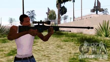 AWP L96А1 (Dodgers) для GTA San Andreas