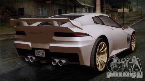 GTA 5 Bravado Banshee SA Mobile для GTA San Andreas вид слева