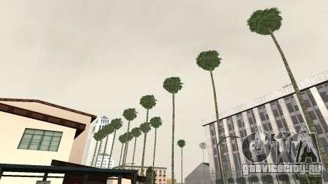 Дороги и растительность Los Santos для GTA San Andreas