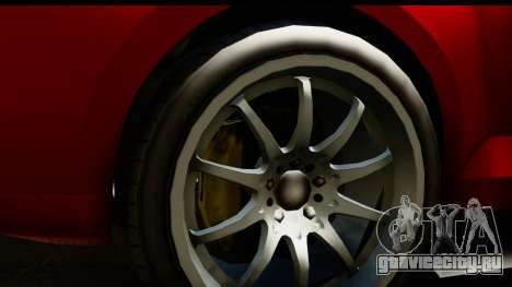 GTA 5 Maibatsu Penumbra IVF для GTA San Andreas вид справа