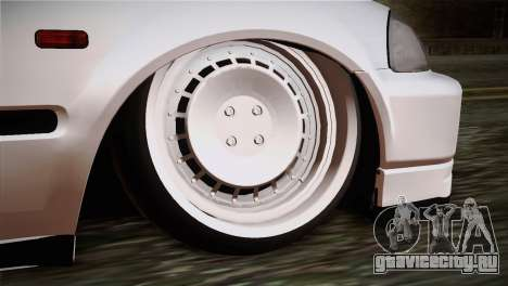 Honda Civic TnTuning для GTA San Andreas вид сзади слева