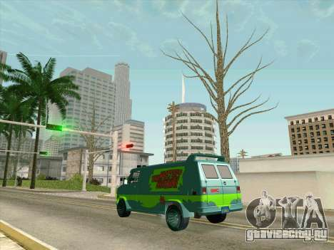 GMC The A-Team Van для GTA San Andreas вид снизу