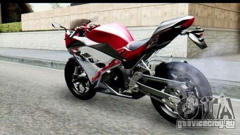 Kawasaki Ninja 250 Fi для GTA San Andreas вид слева