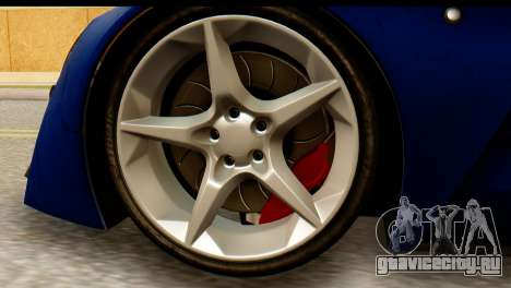 Marussia B2 для GTA San Andreas вид сзади слева