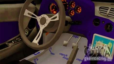 Mazda RX-7 Gangsta Club для GTA San Andreas вид сзади