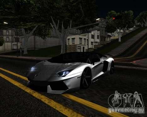 HDX ENB Series для GTA San Andreas четвёртый скриншот