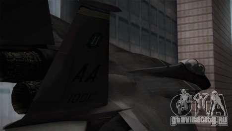 F-15 (Battlefield 2) для GTA San Andreas вид сзади слева