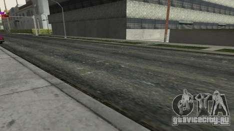 Дороги и растительность Los Santos для GTA San Andreas третий скриншот