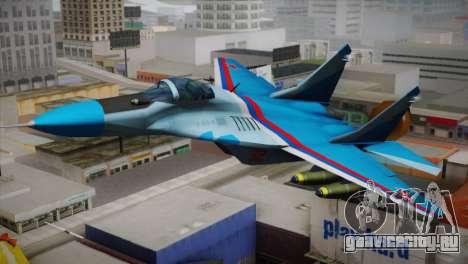 MIG-29 Russian Falcon для GTA San Andreas
