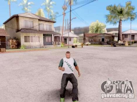 Реальные анимации из GTA 5 для GTA San Andreas