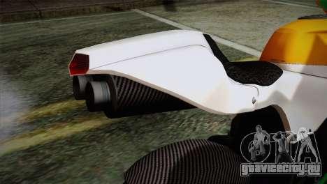 GTA 5 Bati Indian для GTA San Andreas вид сзади