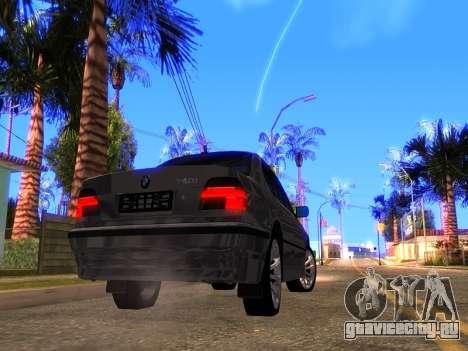 BMW 740i BL для GTA San Andreas вид справа