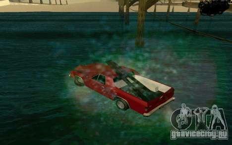 Cars Water для GTA San Andreas второй скриншот