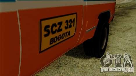 Chevrolet Custom Deluxe для GTA San Andreas вид справа