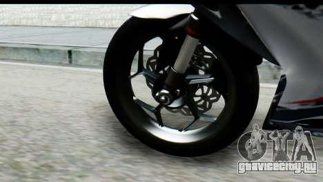 Kawasaki Ninja 250 Fi для GTA San Andreas вид справа
