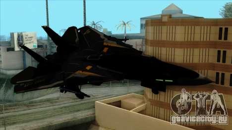 F-14 Black Storm для GTA San Andreas