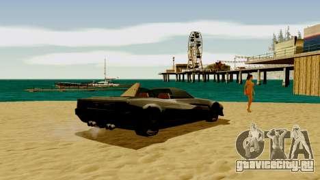 DLC гараж из GTA online абсолютно новый транспор для GTA San Andreas пятый скриншот