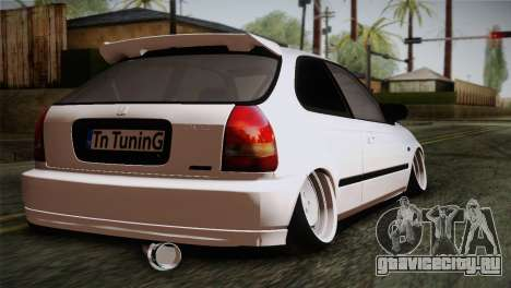 Honda Civic TnTuning для GTA San Andreas вид слева