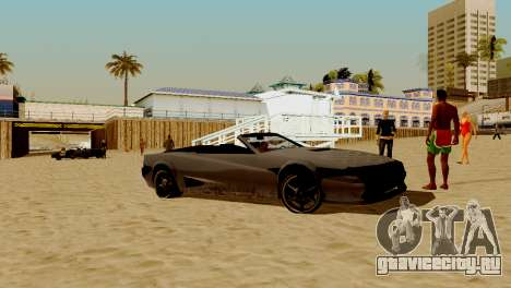 DLC гараж из GTA online абсолютно новый транспор для GTA San Andreas восьмой скриншот