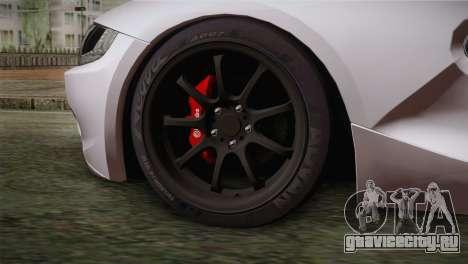 BMW Z4 V10 IVF для GTA San Andreas вид сзади слева