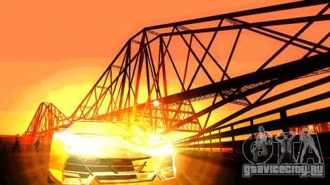 ANCG ENB для слабых ПК для GTA San Andreas четвёртый скриншот