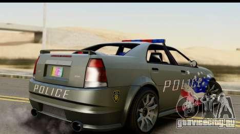 EFLC TBoGT Albany Police Stinger SA Mobile для GTA San Andreas вид слева