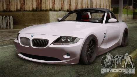 BMW Z4 V10 IVF для GTA San Andreas