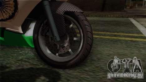 GTA 5 Bati Indian для GTA San Andreas вид сзади слева