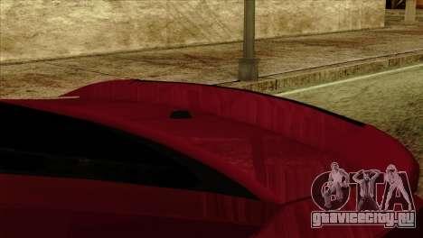 Ford Shelby GT500 для GTA San Andreas вид справа