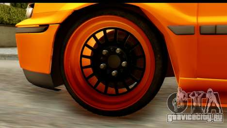 Ikco Samand Tuning для GTA San Andreas вид сзади
