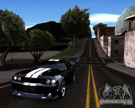 HDX ENB Series для GTA San Andreas третий скриншот