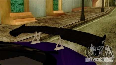 Mazda RX-7 Gangsta Club для GTA San Andreas вид сзади слева