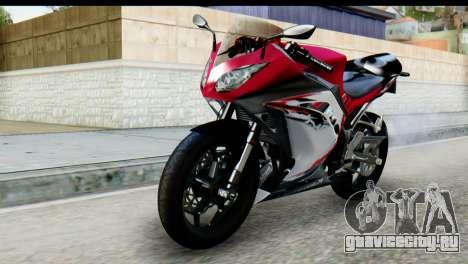 Kawasaki Ninja 250 Fi для GTA San Andreas