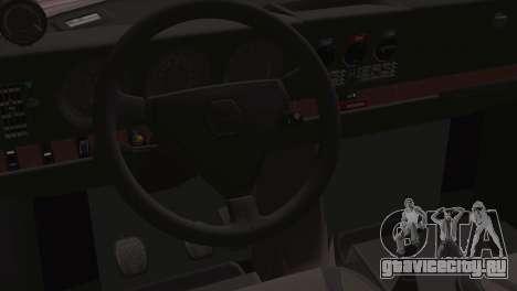 Saab 99 Turbo Stance для GTA San Andreas вид справа