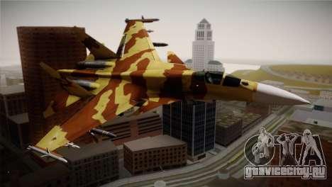 SU-37 Terminator для GTA San Andreas