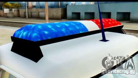 Chevrolet C10 Patrulla для GTA San Andreas вид справа
