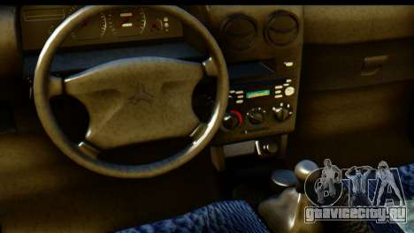 Ford Festiva Tuning для GTA San Andreas вид справа
