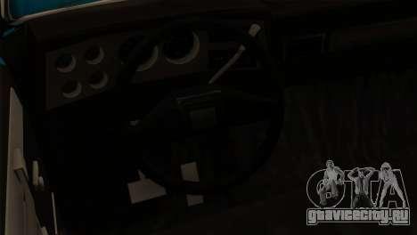 Chevrolet Custom Deluxe для GTA San Andreas вид сзади