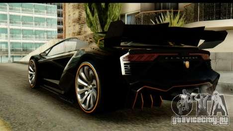 GTA 5 Pegassi Zentorno v2 SA Mobile для GTA San Andreas