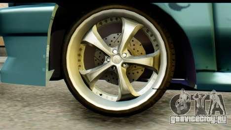 Ford Festiva Tuning для GTA San Andreas вид сзади слева