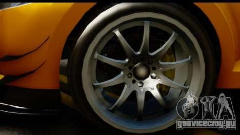 GTA 5 Maibatsu Penumbra для GTA San Andreas вид сзади