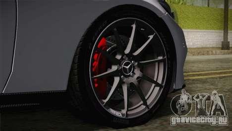 Mercedes-Benz C250 AMG Edition 2014 EU Plate для GTA San Andreas вид сзади слева