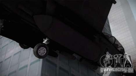 F-15 (Battlefield 2) для GTA San Andreas вид справа