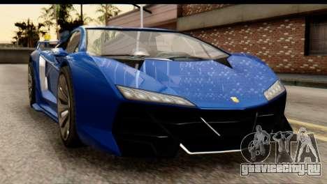 GTA 5 Pegassi Zentorno v2 для GTA San Andreas