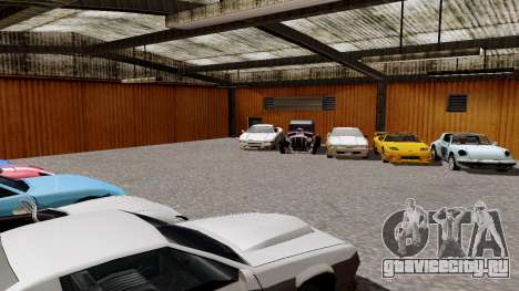 DLC гараж из GTA online абсолютно новый транспор для GTA San Andreas третий скриншот